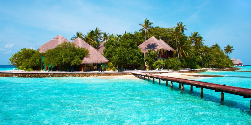 Island in the Ocean. Welcome to Paradise!